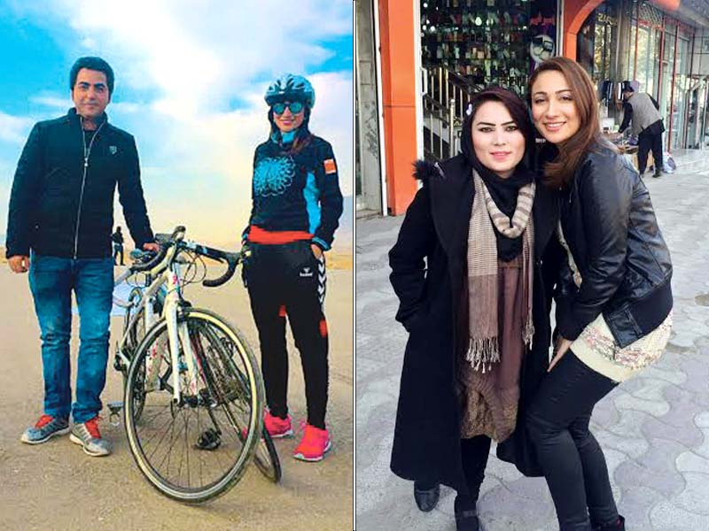 Anoushey was contacted by Afghan channel Tolo as their team learnt that she is a travel enthusiast. PHOTOS: PUBLICITY