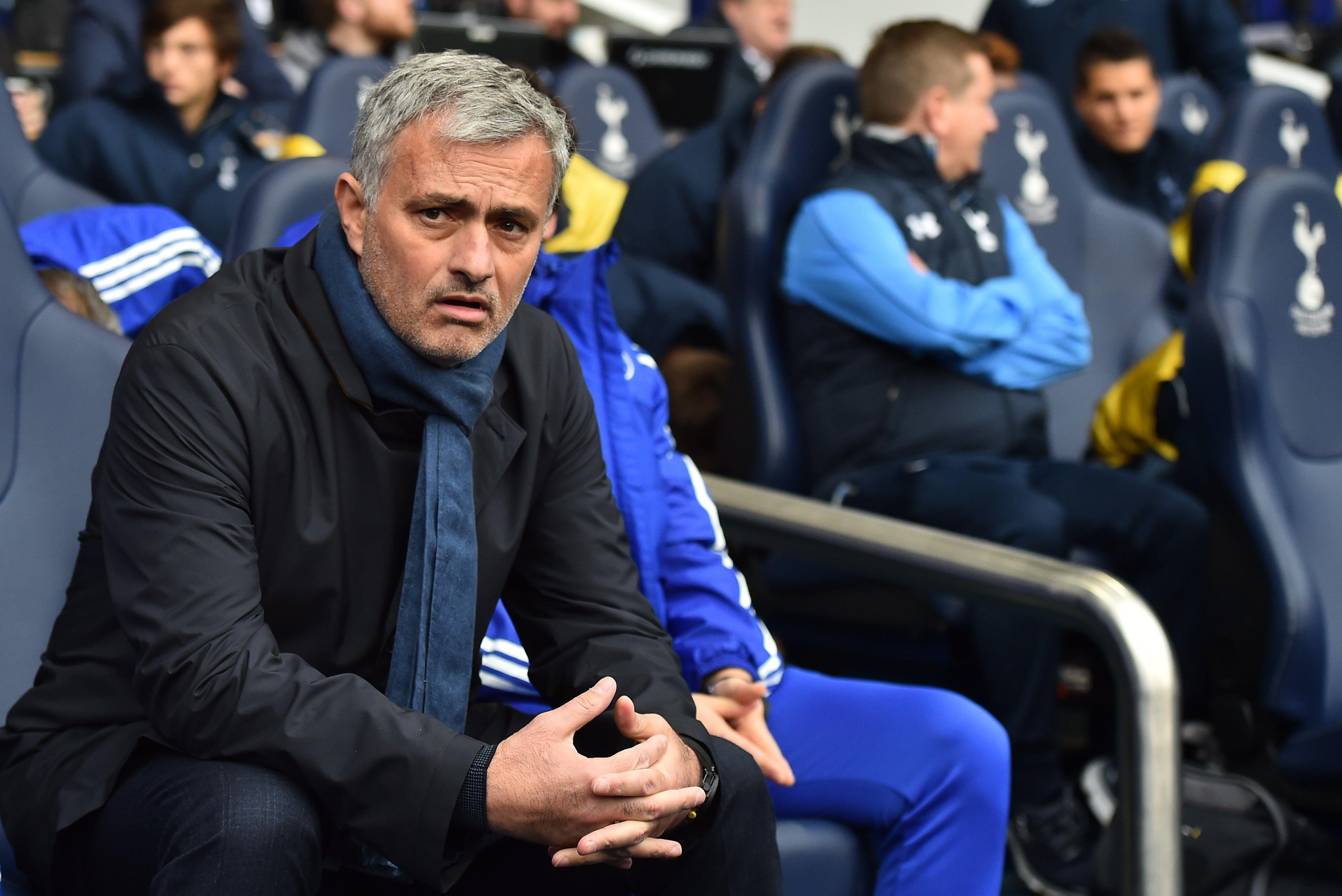 Jose Mourinho. PHOTO: AFP