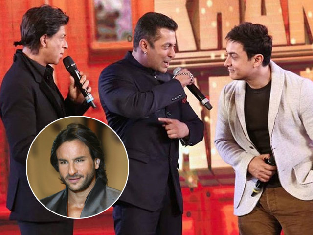 Could it be because the Bollywood megastar thinks the three Khans won't get along?