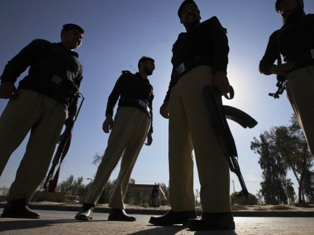 A file photo of police. PHOTO: REUTERS