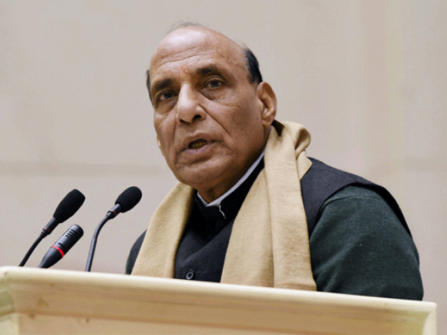 Indian Home Minister Rajnath Singh. PHOTO: REUTERS