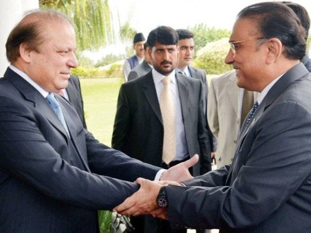 PPP has denied any chance of a meeting between the two. PHOTO: INP
