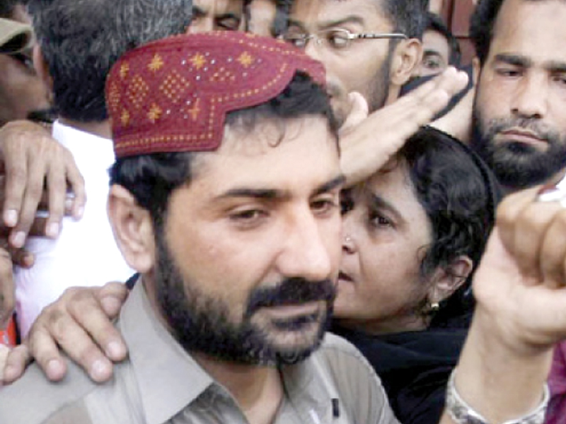 The rivalry between the two gangsters started in 2003 when Pappu, son a of notorious drug peddler Haji Lallu, killed a known Lyari transporter, Mama Faizu, the father of Uzair Baloch. PHOTO: FILE