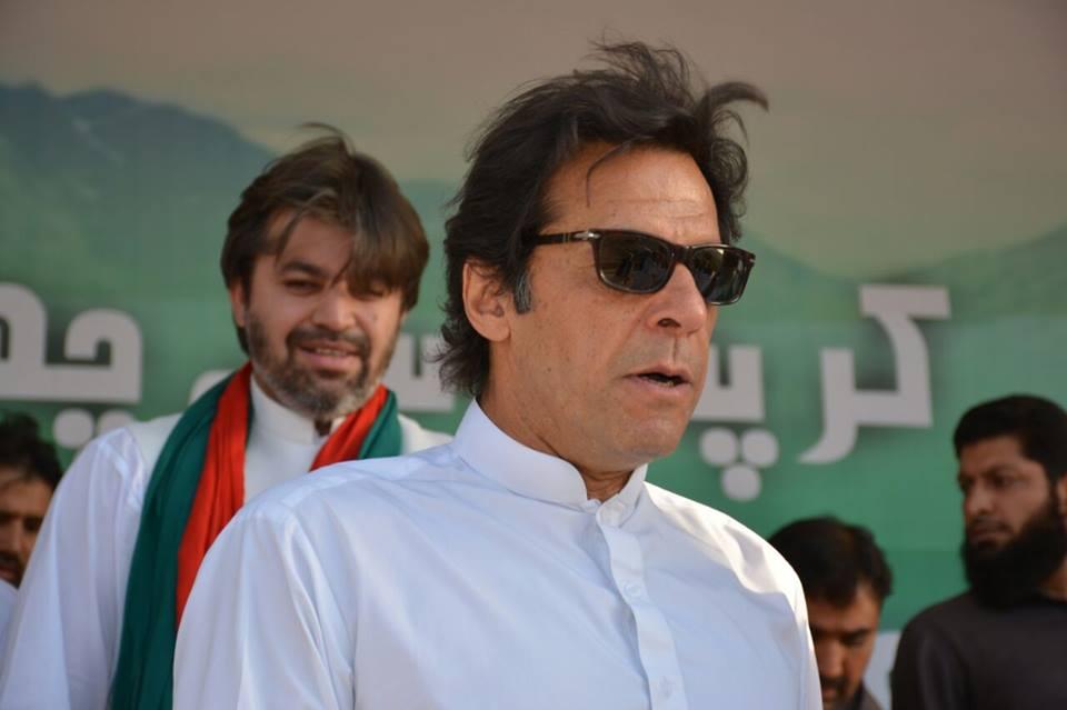 Pakistan Tehreek-e-Insaf Chairman Imran Khan. PHOTO: fb.com/ImranKhanOfficial