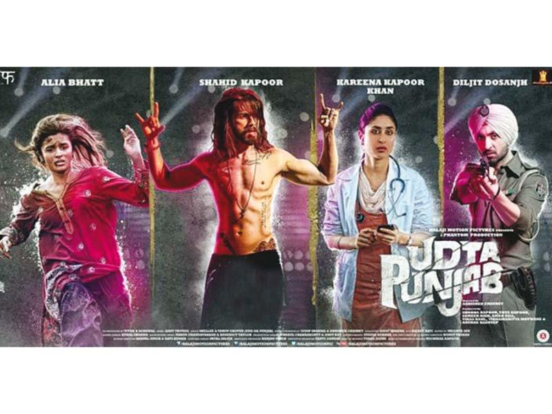 The Shahid Kapoor, Alia Bhatt-starrer is yet to grace Pakistani cinema screens. PHOTO: FILE