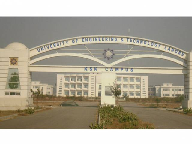 Commission says UET's view has no legal basis. PHOTO: UET.EDU.PK