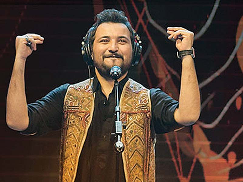 Momin won the Best Original Soundtrack Award for his song Yaar-e-Mann which he sang alongside Zeb Bangash. PHOTO: FILE