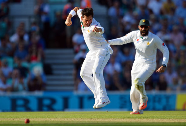 Yasir Shah is twice on the list and so is Misbah with Younus making it in two times too. PHOTO: AFP