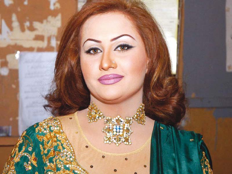 Nargis is currently Lahore's highest paid stage dancer. PHOTO: FILE