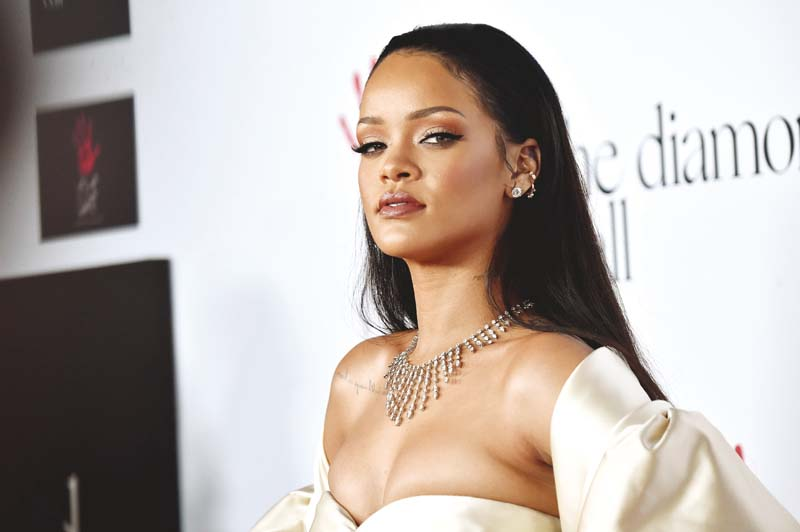 Rihanna launched her latest fashion line at the recent Paris Fashion Week. PHOTO: FILE