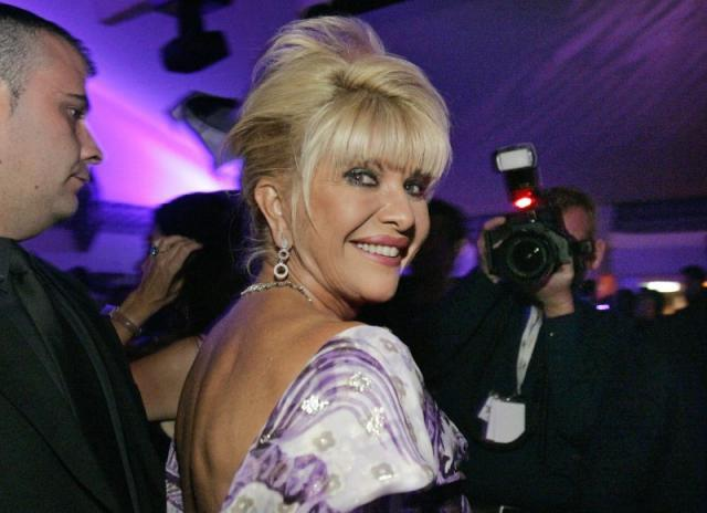 Ivana Trump smiles during an event in 2006 PHOTO: REUTERS