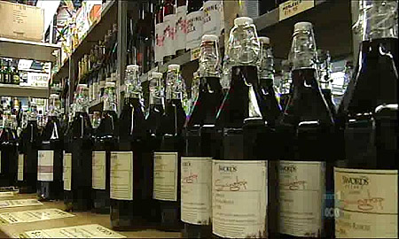 In Karachi, there are up to 50 wine shops, which were closed down in the month of Ramazan. After the holy month ended, wine dealers were reluctant, however, to immediately open their shops. PHOTO: FILE