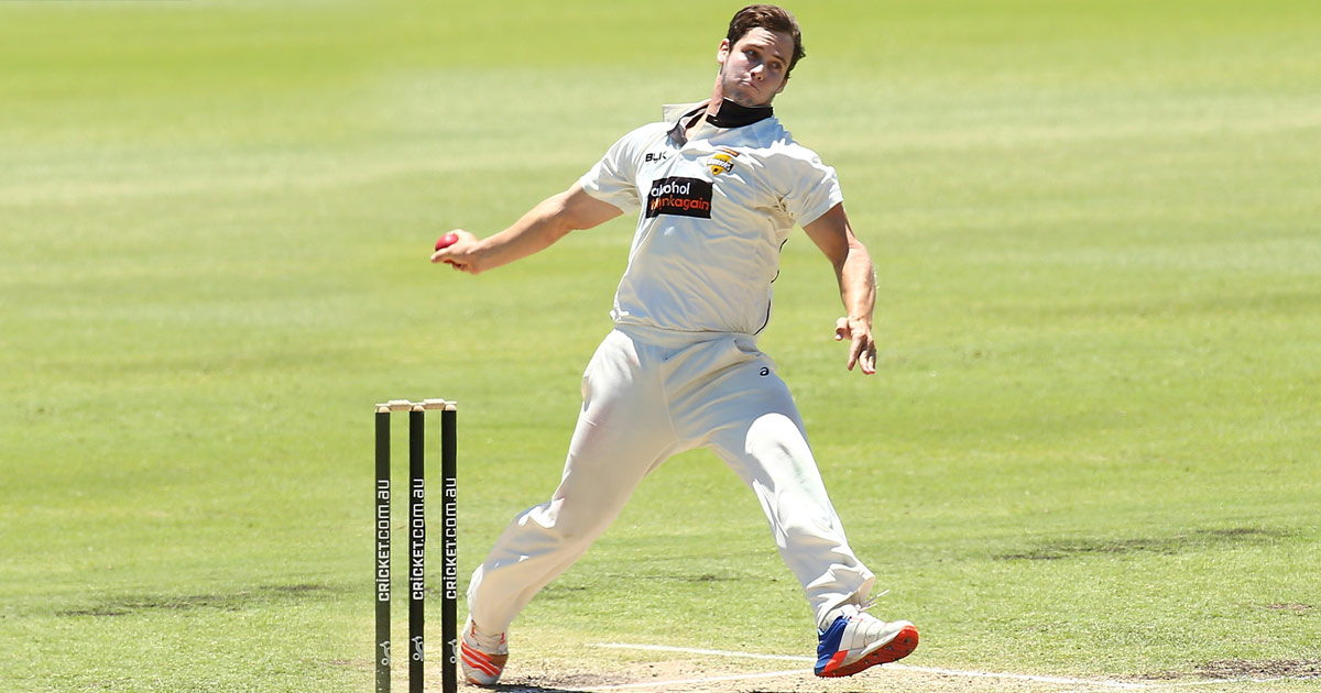 THE WRIGHT MAN. Cartwright gets the nod ahead of the more established Mitchell Marsh and Moises Henriques. PHOTO: AFP