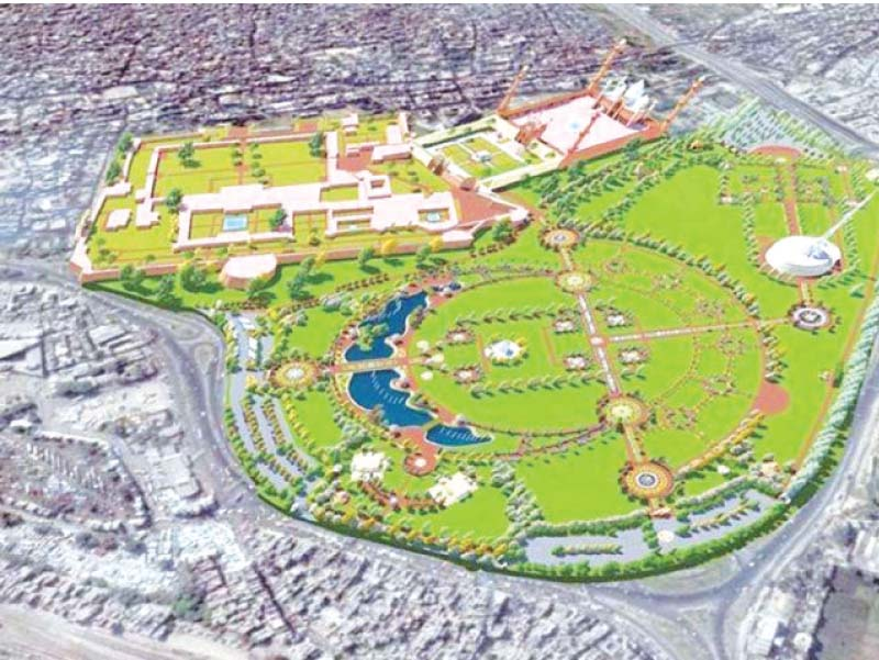 The Greater Iqbal Park project design. PHOTO: FILE