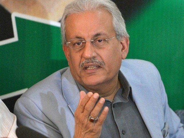 Senate chairman Raza Rabbani. PHOTO: AFP