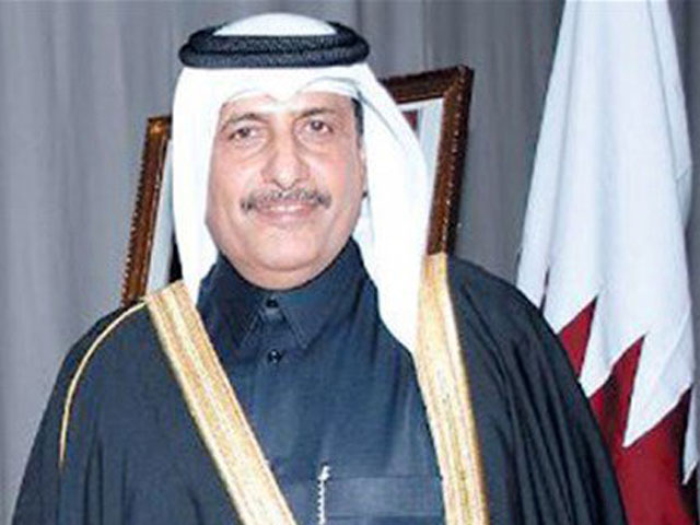 Qatari ambassador to Pakistan Saqr bin Mubarak al Mansouri. PHOTO: APP
