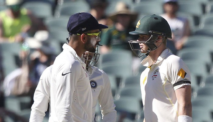 Australia-India encounters are known for their verbal spats. PHOTO: AFP
