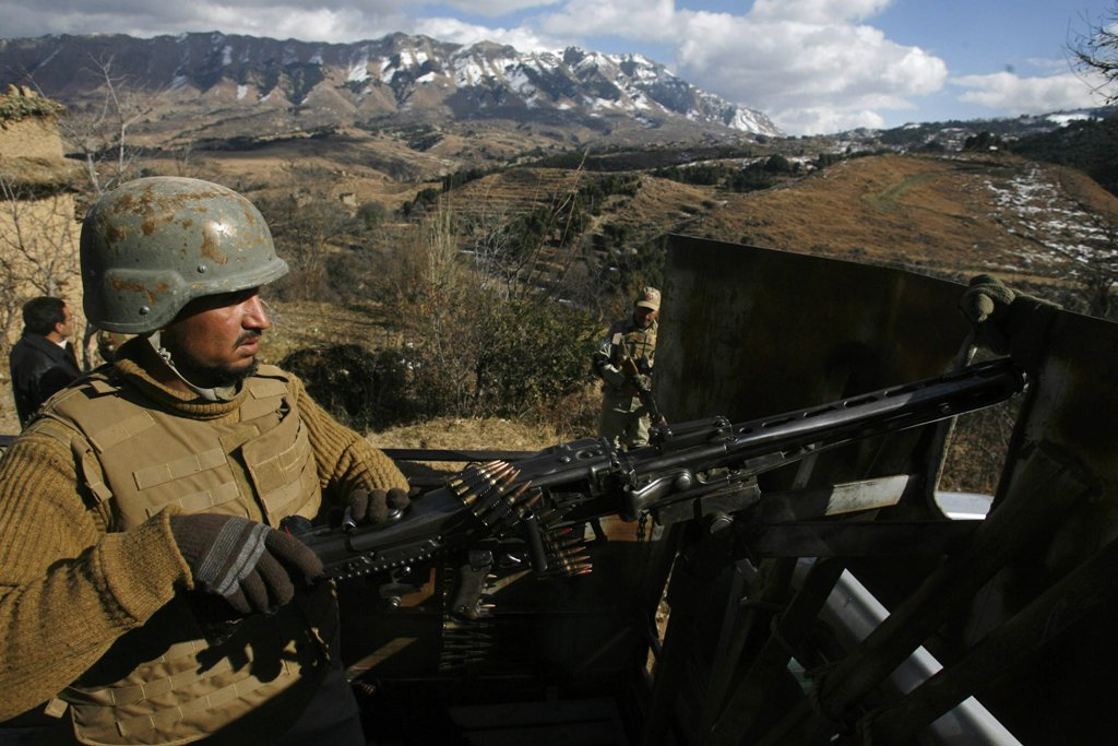 File photo of an army check post. PHOTO: REUTERS