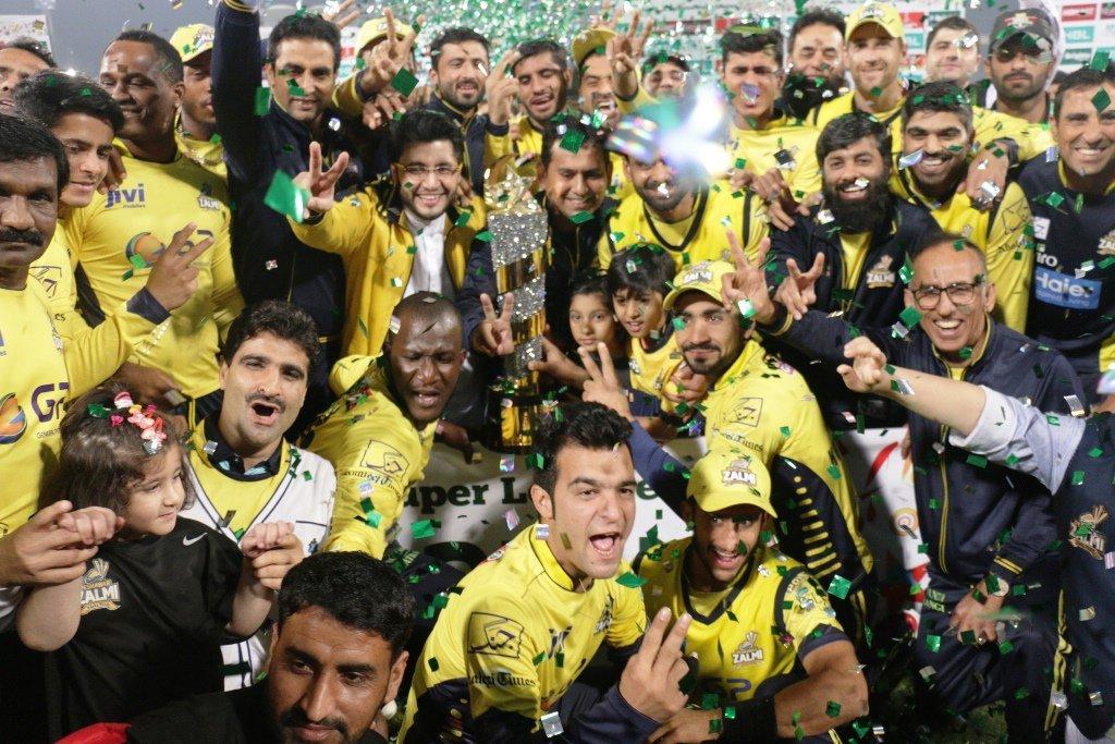 Peshawar Zalmi crowned PSL champions. PHOTO: SHAFIQ MALIK/ EXPRESS