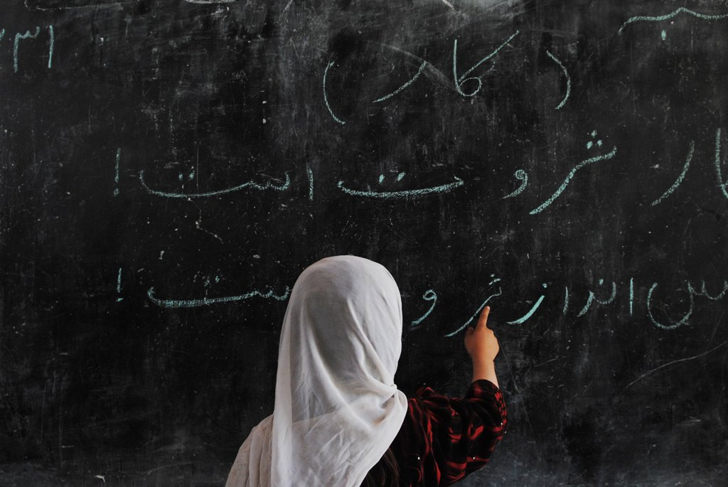 Education for girls used to be a forbidden fruit in our area, shared an employee of an NGO, Zubaida. PHOTO: AFP