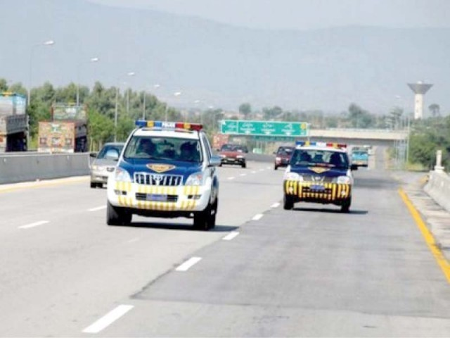 The cars were stolen from Rawalpindi and Gujranwala respectively. PHOTO: EXPRESS/FILE