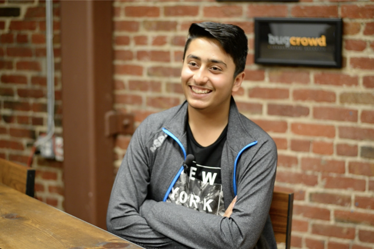 Ahsan Tahir is a rising star in the cyber security realm. PHOTO COURTESY: BUGCROWD