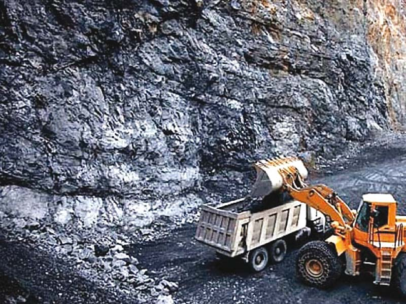 Vast coal deposits may appear tempting but they must remain underground for the earth to survive. PHOTO: FILE