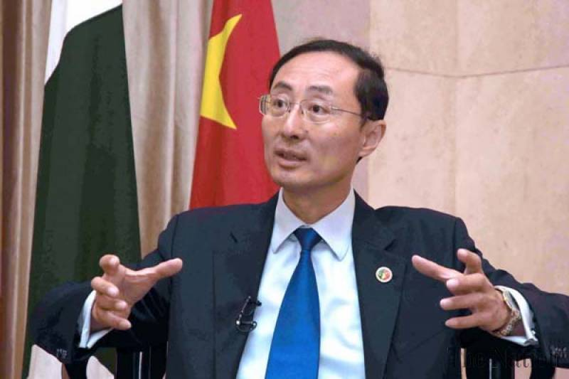 Envoy describes businessmen's reservations about CPEC as speculation. PHOTO: APP