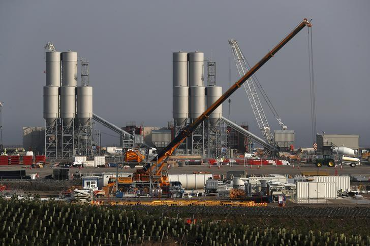 A nuclear power station site. PHOTO: REUTERS
