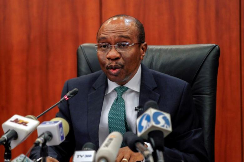Nigeria's central bank governor Godwin Emefiele speaks during the monthly Monetary Policy Committee meeting in Abuja, Nigeria. PHOTO: REUTERS