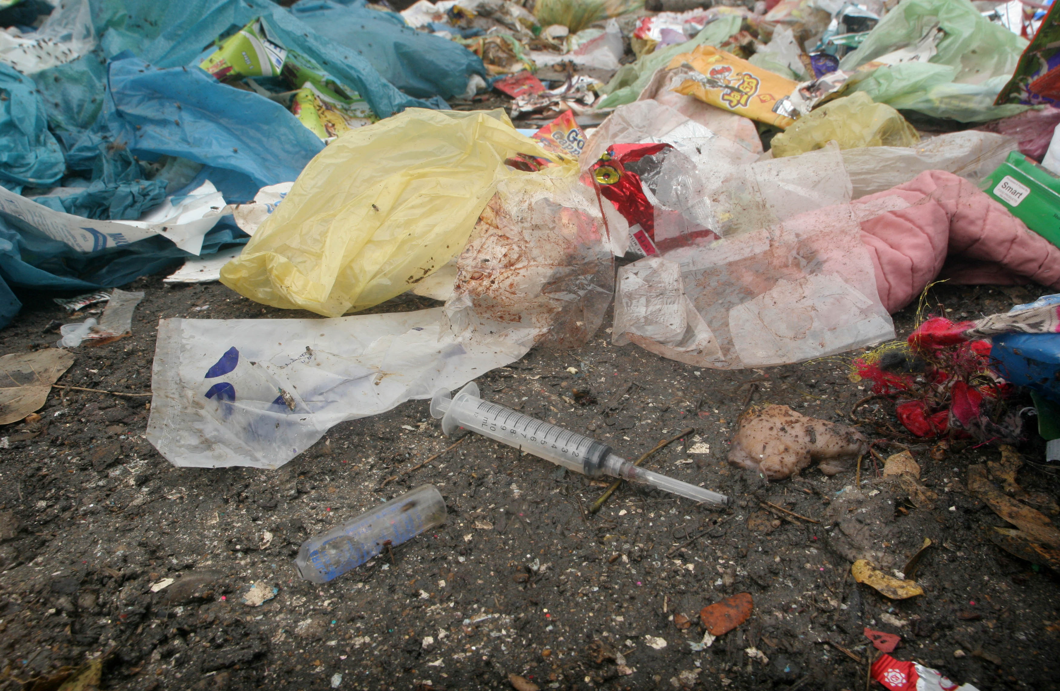 Medical waste disposal measures and ensuring clean water supply are two of the items the judicial commission has asked the hospitals to file a report on. PHOTO: EXPRESS