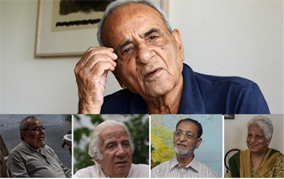 Five people who witnessed the Partition. PHOTO: AFP