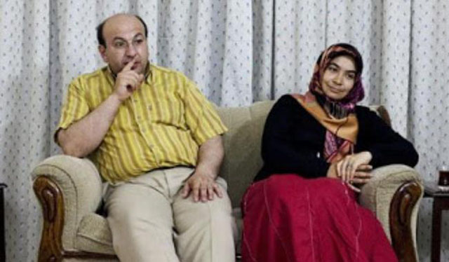 Mesut Kacmez, a former principal of the Pak-Turk School, and his wife. PHOTO: File