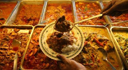 Traditional Malay food. PHOTO: REUTERS