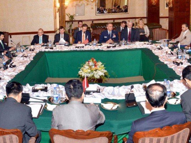 QCG meeting in Islamabad in 2016 PHOTO:PID