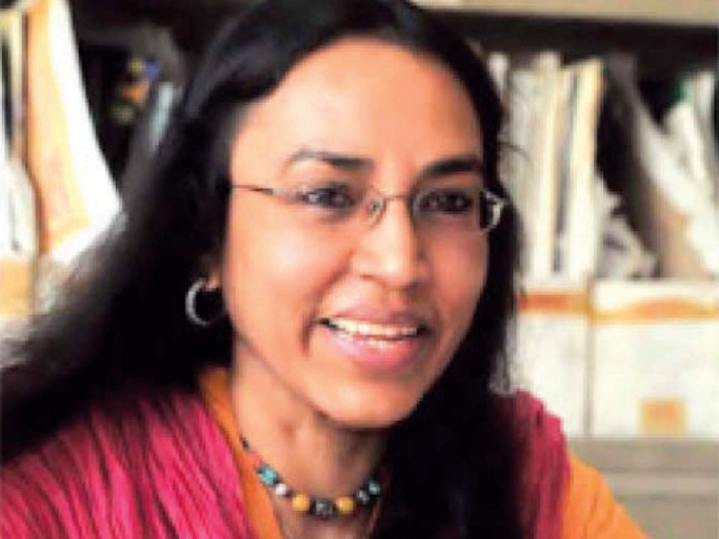 Perween Rehman, the Orangi Pilot Project's project director, was murdered while returning from her office in Qasba Colony in Orangi Town on March 13, 2013. PHOTO: EXPRESS