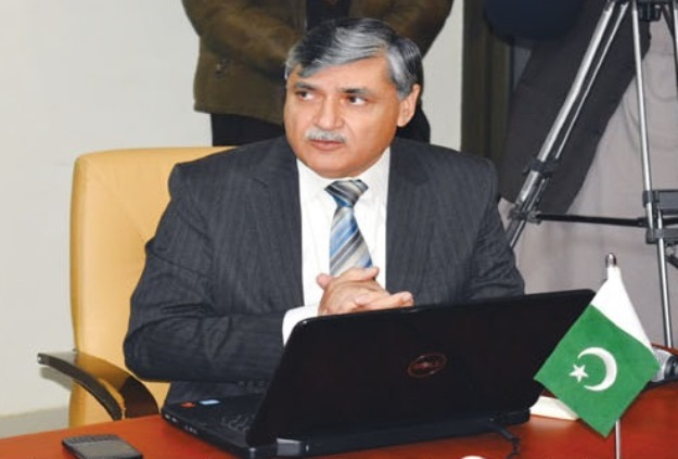 NTS CEO Air Commodore (retd) Dr Sherzada Khan. PHOTO: File