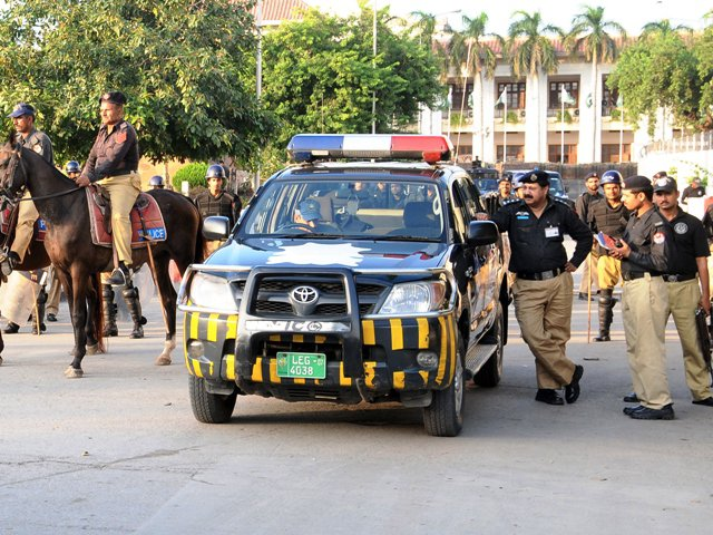 Punjab Police. PHOTO: EXPRESS / FILE