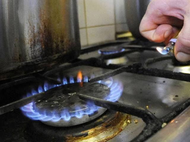 The people are facing problem of low gas pressure making heating and cooking impossible. PHOTO: FILE