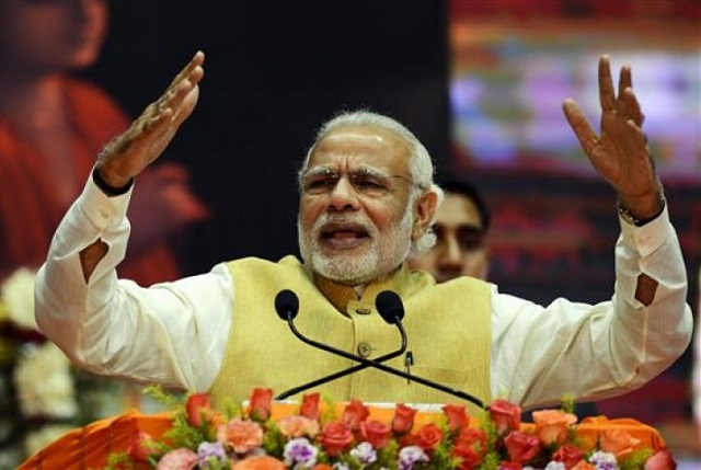 Modi's party condemns member who offered reward for Bollywood star's head,PHOTO:AFP