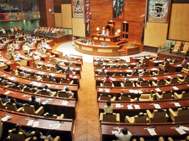 Sindh Assembly. PHOTO: ONLINE