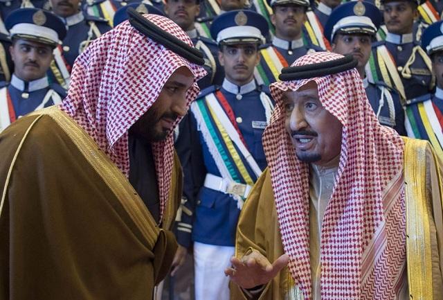 Saudi King Salman and Crown Prince Mohammed bin Salman. PHOTO: AFP/FILE