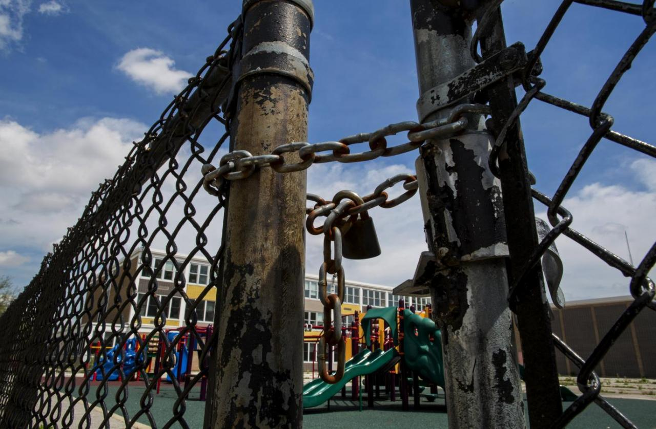 Representational image of a closed down school. PHOTO: REUTERS