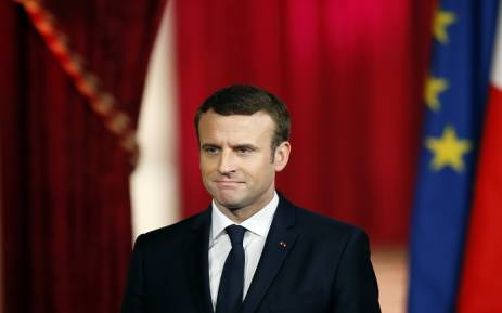 French President Emmanuel Macron, PHOTO:AFP