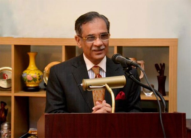 Chief Justice of Pakistan Mian Saqib Nisar. PHOTO: EXPRESS