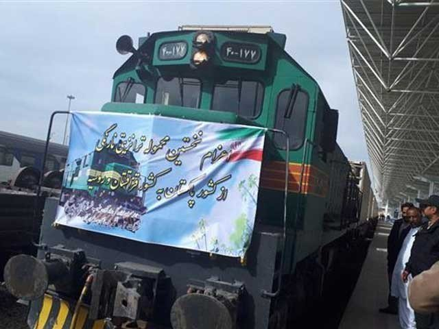 The two sides also decide to run 15 regular freight trains between Quetta and Zahedan. PHOTO: FILE