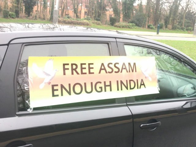 The development comes after display of misleading, anti-Pakistan banners in Geneva, London and New York. PHOTO: EXPRESS
