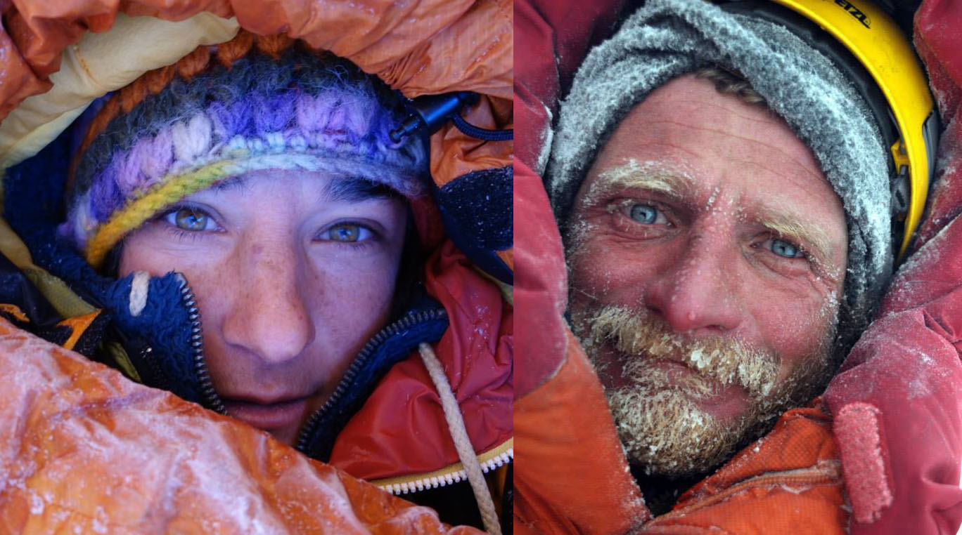French climber Elisabeth Revol and Polish mountaineer Tomek Mackiewicz. PHOTO: FILE