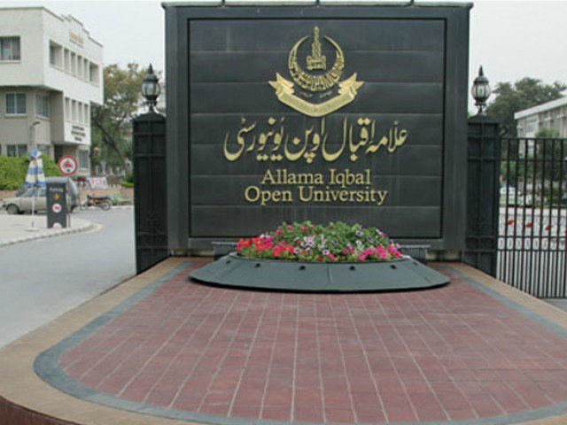 Allama Iqbal Open University has decided to provide students with soft copies of the books across the country. PHOTO: EXPRESS/FILE