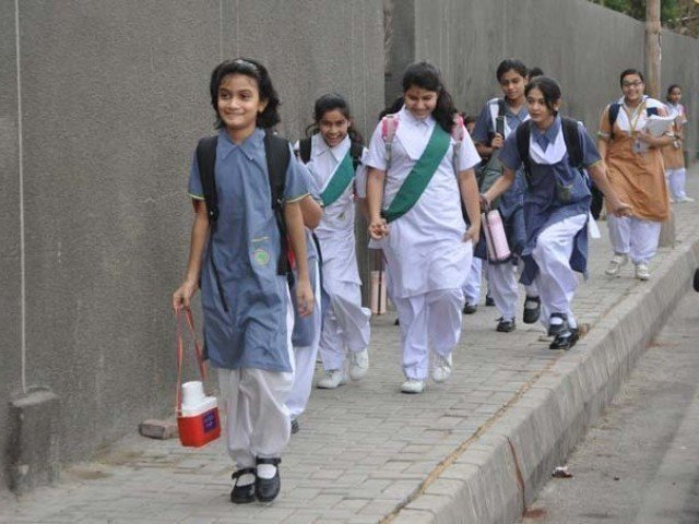 Middle class families find it difficult to afford high fees of private schools.  PHOTO: EXPRESS/FILE